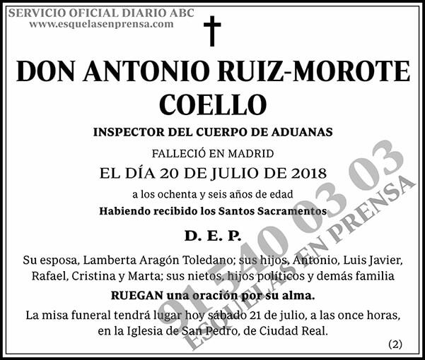 Antonio Ruiz-Morote Coello